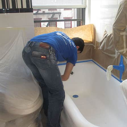bath tub resurfacing experts
