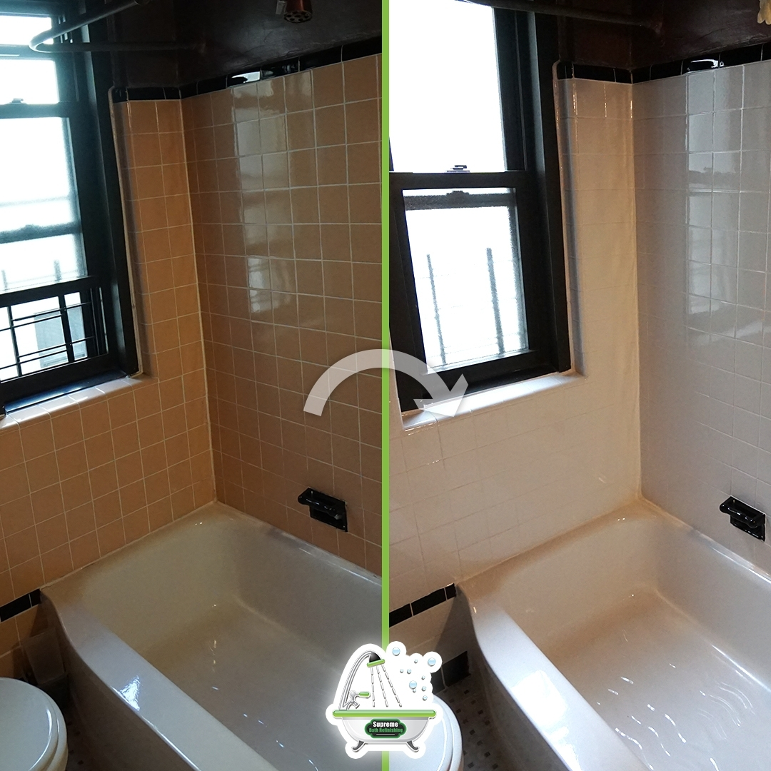 Before And After Bathtub Liner Removal Brooklyn Sink