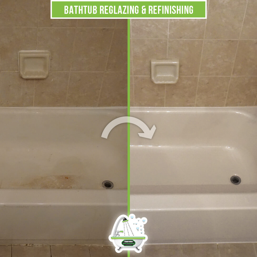 Bathtub Reglazing Refinishing Supreme Bath Refinishing