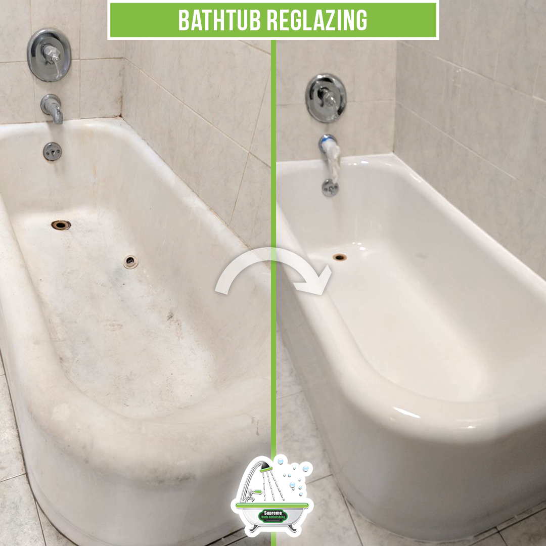 Bathtub Reglazing Refinishing Supreme Bath Refinishing